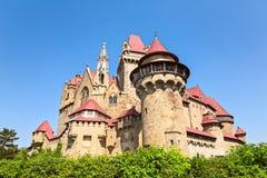 Le Burg Kreuzenstein est un château près de Leobendorf en Basse Autriche, image libre de droits