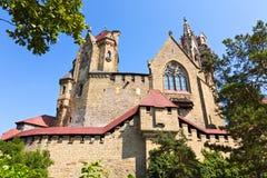 Le Burg Kreuzenstein est un château près de Leobendorf en Basse Autriche, photos stock