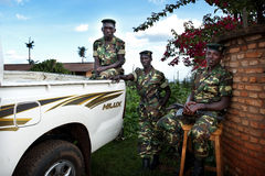 Le Burundi Photos stock