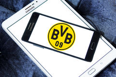 Le BV 09 Borussia Dortmund, logo de club du football de BVB Photos stock