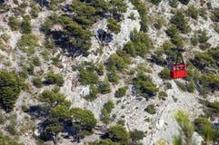 Le câble Faro près de Toulon images libres de droits