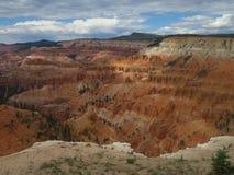 Le cèdre casse le monument national, Utah photos stock