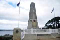 Le cénotaphe national de mémorial de guerre d'état commémore l'Australien occidental aux Rois Park et jardin botanique à Perth, A photographie stock