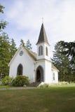 Le côté central d'église sur Lopez est Photo stock