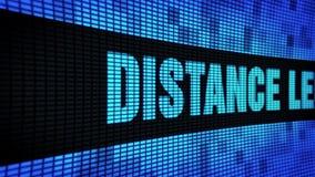 Le côté d'enseignement à distance textotent mettre en rouleau le panneau de signe de panneau d'affichage de mur de LED clips vidéos