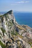 Le côté du rocher de Gibraltar images stock