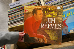 Le côté de pays de Jim Reeves Photo libre de droits