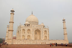 Le côté du Taj Mahal Photos stock