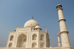 Le côté du Taj Mahal Images stock