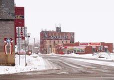 Le côté nord Images stock