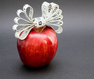 Le cadeau d'Apple_Nature image stock