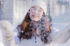 Le cadeau de l'hiver Images stock
