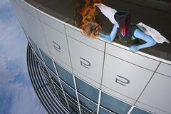 Le cadeau de l'incendie illustration libre de droits