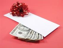 Le cadeau parfait (rouge) Photos libres de droits