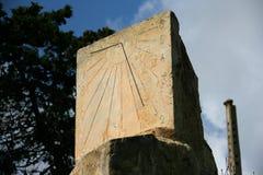 Le cadran solaire photo libre de droits