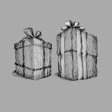 Le cadre de cadeau Photographie stock libre de droits