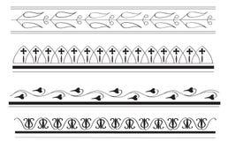 Le cadre du grec ancien conçoit 2 Image stock
