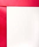 Le cadre du ruban dans le style minimaliste Photographie stock libre de droits