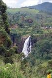 Le cadute della st Clair è la cascata più larga in Sri Lanka Fotografie Stock