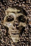 Le café d'amour ne meurent jamais Image libre de droits