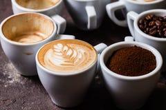 Le café est mon amour Photos stock