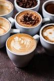 Le café est mon amour Image stock