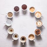 Le café est mon amour Photo stock