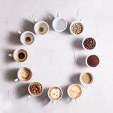 Le café est mon amour Image libre de droits