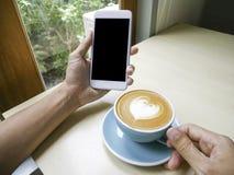 Le café et détendent Images libres de droits