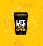 Le café et les amis font le mélange parfait Calibre créatif de inspiration d'affiche de citation de motivation de décoration de c illustration de vecteur