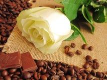 Le café et s'est levé Photos libres de droits