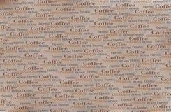 Le café exprime le fond Image stock