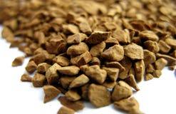 Le café normal en granules se ferment vers le haut Image stock