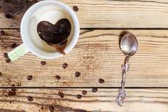 Le café potable de matin Chacun aime le café Images libres de droits