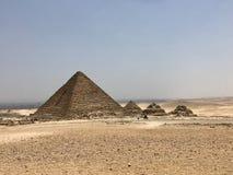 Le Caire Pyramyds photographie stock libre de droits