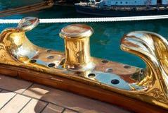 Le calage grand de bateau Image libre de droits