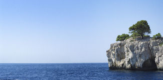 Le calanque de Cassis Royalty Free Stock Photo