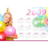 Le calendrier Images stock