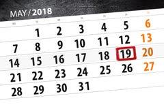 Le calendrier, jour, mois, affaires, concept, journal intime, date-butoir, planificateur, vacances d'état, table, l'illustration  illustration libre de droits