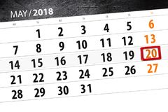 Le calendrier, jour, mois, affaires, concept, journal intime, date-butoir, planificateur, vacances d'état, table, l'illustration  Photo libre de droits