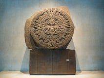 Le calendrier maya, Inca, Aztèque, fin de la prophétie du monde Images libres de droits
