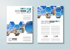 Le calibre de brochure, la conception d'insecte ou le Depliant couvrent à des fins commerciales illustration stock