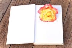 Le calibre de livre avec a monté Photographie stock