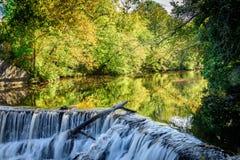 Le calme avant les automnes Photo stock