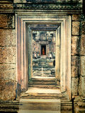 Le Cambodge Angkor Banteay Srey image stock