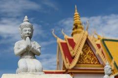 Le Cambodge - le Royal Palace Photographie stock libre de droits