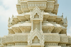 Le Cambodge Royal Palace, stupa Photographie stock libre de droits