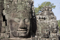 Le Cambodge, temple antique Image libre de droits
