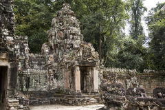 Le Cambodge, temple antique Image stock
