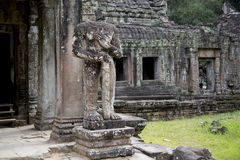 Le Cambodge, temple antique Photo libre de droits